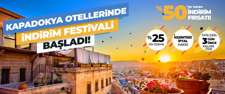 Kapadokya Otellerinde İndirim Festivali Başladı