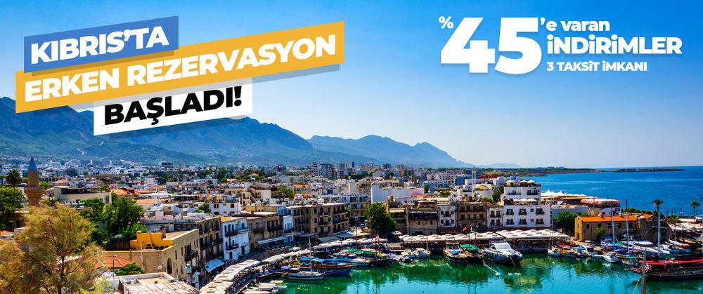Kıbrıs Erken Rezervasyon İndirimleri